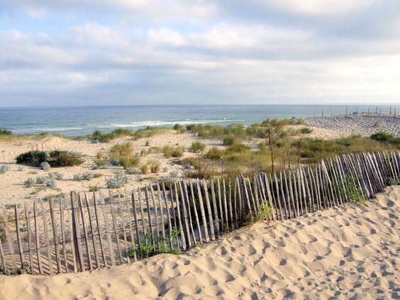 Photo de la plage de soulac sur mer (33)
