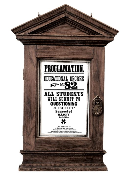 Proclamation Educational Decree No 82 With Frame Harry Harry Potter Poster Harry Potter Room Harry Potter Hogwarts