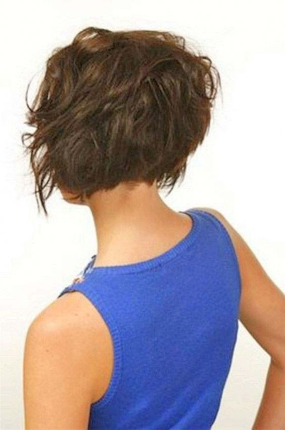 layered haircuts back view layered bob hairstyles back view layered bob 2329