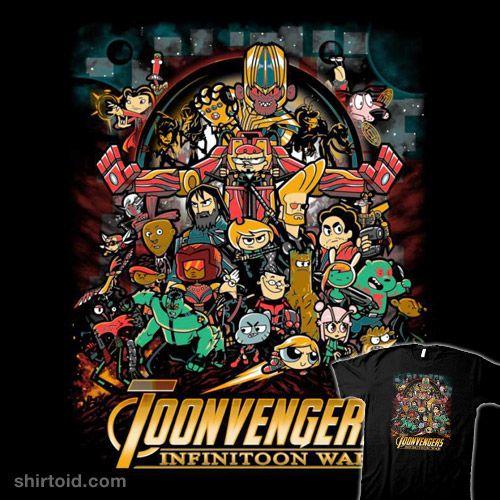 Infinitoon War Avengers Cartoon Cartoon Crossovers Cartoon Network