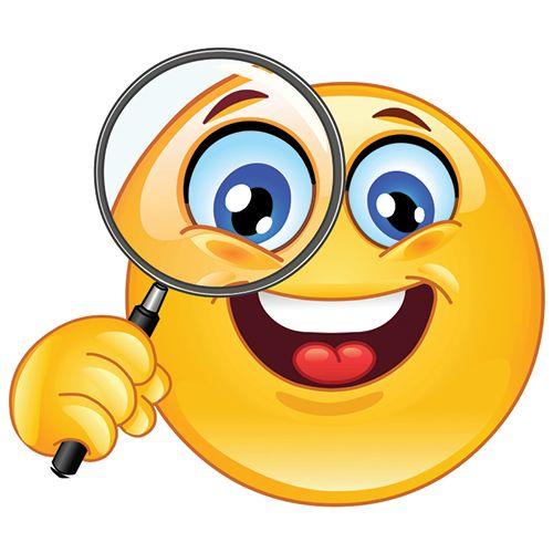 """Résultat de recherche d'images pour """"smiley a la recherche"""""""