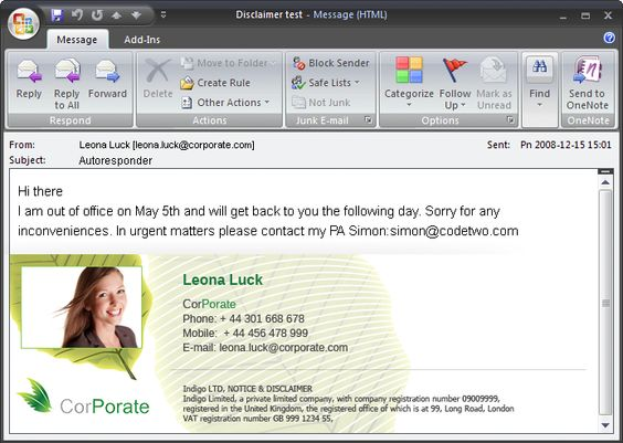 Microsoft Office Email Signature Templates  Resumes