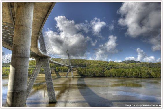 Pont de Térénez Landévennec Rosnoën - Finistère Bretagne