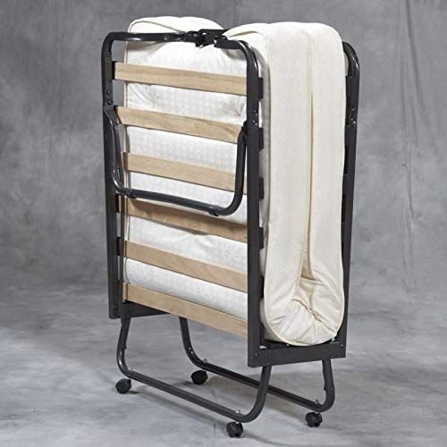 Twin Size Bed Frame Folding Metal Classic Portable Twin Bed Frame