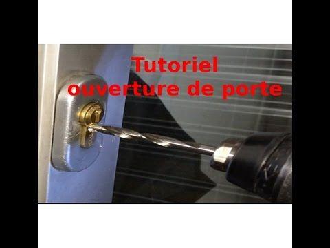 Tutoriel Ouverture De Porte Comment Ouvrir Un Cylindre De Serrure Youtube Serrure Porte Comment Ouvrir Une Porte Serrure