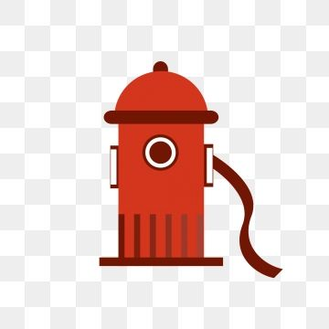 Simple Cartoon Fire Fighting Rescue Hydrant Element Fire Hydrant Clipart Simple Extinguishing Png And Vector With Transparent Background For Free Download Simple Cartoon Firefighter Fire
