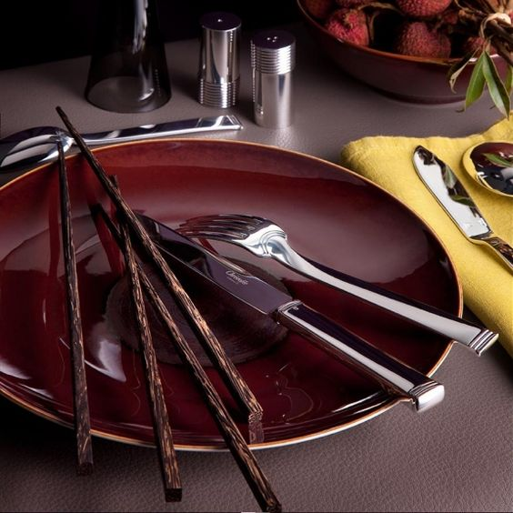 Flatware Christofle silver plated Cardeilhac