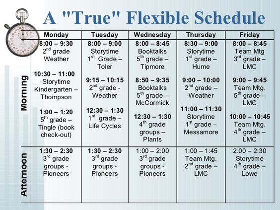 flexible schedule Flexible schedule don't settle for a one-size-fits-all curriculum.