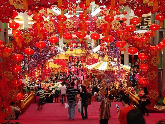 Tết ở Trung Quốc khắp nơi ngập tràn sắc đỏ