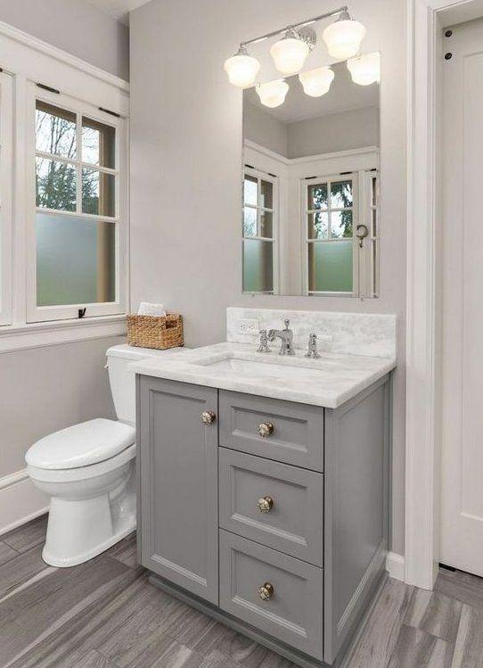 Small Bathroom Vanity Ideas 20 Elegant Designs For Chic Decor Famedecor Com Smallbathroom In 2020 Small Bathroom Vanities Restroom Remodel Small Bathroom Renos