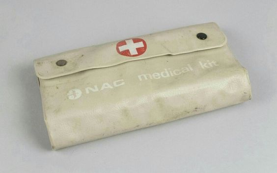Medical Kit [NAC]; National Airways Corporation (New Zealand)  From Museum of Transport and Technology (MOTAT)