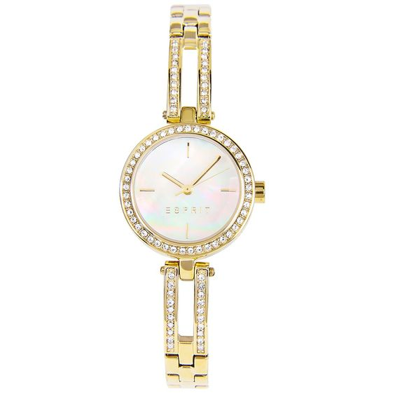 Esprit Mother-of-Pearl Gold Ladies Dress Watch ES106982003