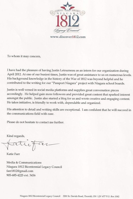 Service for you   Help with writing letter of recommendation