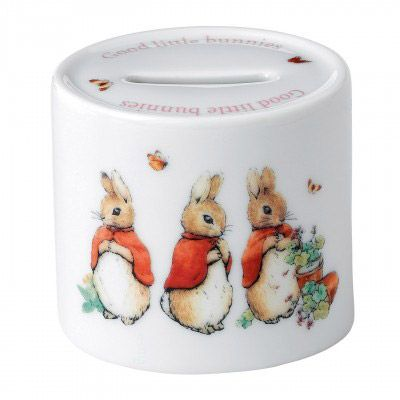 Waterford Peter Rabbit Pink Money Box