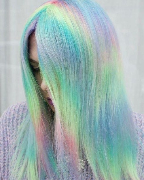104 Pastel And Also Hidden Rainbow Hair Color Ideas Easy Hairstyles