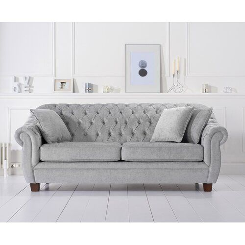 Rosalind Wheeler Artimacormick 3 Seater Chesterfield Sofa With Images Seater Sofa Three Seater Sofa Sofa Set