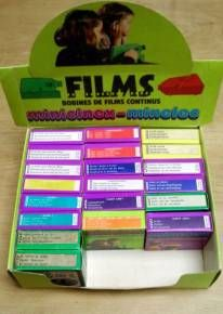 Cassettes Minelec / Minicinex Meccano Vintage