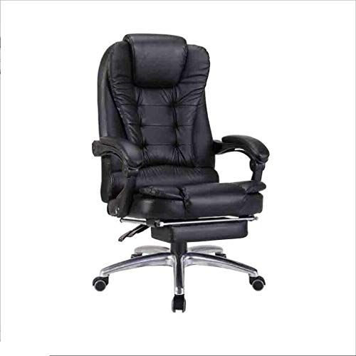 Lh Chairs Office Computer Chair Reclining Home Leather Swivel Chair Comfortable Business Backrest Lift Modern Swivel Chair Leather Swivel Chair Ergonomic Chair