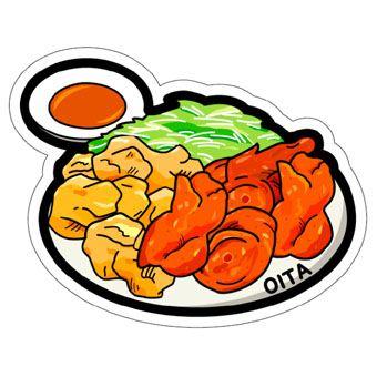 gotochi postcard oita poulet karaage