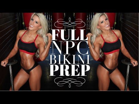 NPC Bikini Prep 1: How many meals to eat, Shoulder workout, & Morning Su...