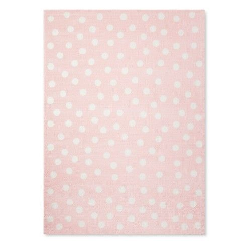 Polka Dot Plush Area Rug Pillowfort With Images Plush Area