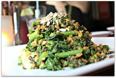Grilled Kale Salad from Candle 79