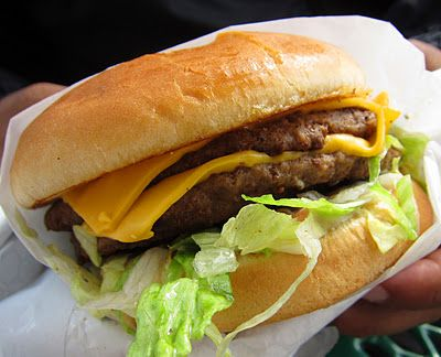 how to make double cheeseburger