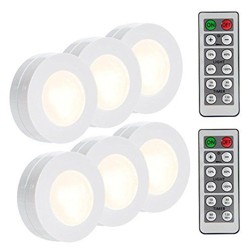 Lunsy Wireless Led Puck Lights Closet Lights Battery Ope Https Www Amazon Com Dp B075my4g4z Ref Cm Sw R Pi Dp Led Puck Lights Puck Lights Closet Lighting