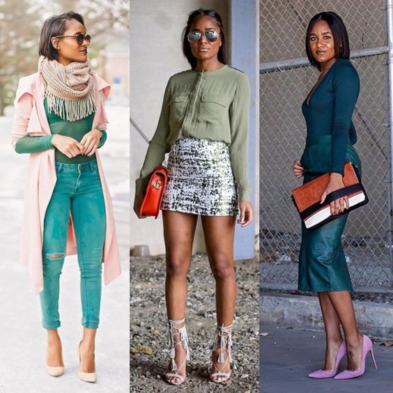 """""""Shades of GREEN  