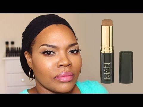 REVUE Fond de Teint stick IMAN Cosmetics - YouTube