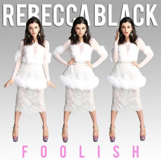Rebecca Black – Foolish (single cover art)