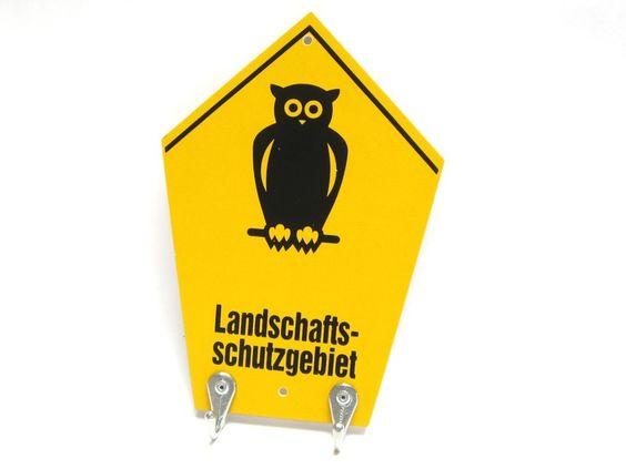 Schlüsselbrett *Landschaftsschutzgebiet* von Ringelspatz auf DaWanda.com