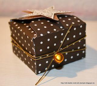 Ich bastle nicht, ich stemple!: Verpackung für Ferrero Rocher mit dem Envelope Punch Board