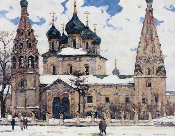 Yuri Semenyuk - Church Iliya of the Prophet