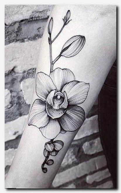 Pin By Sean Zambruski On Tattoo Ideas In 2020 Orchid Tattoo Orchid Flower Tattoos Neck Tattoo
