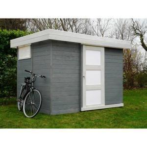 Abri de jardin LUND 2670X1880 4,85m² utiles - Achat / Vente abri jardin - chalet Abri de jardin bois - Soldes* d'été Cdiscount - 999€