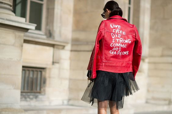 ELLE.com photographer Tyler Joe captures the chicest street style moments from Paris Fashion Week.: