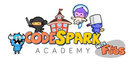 code spark logo