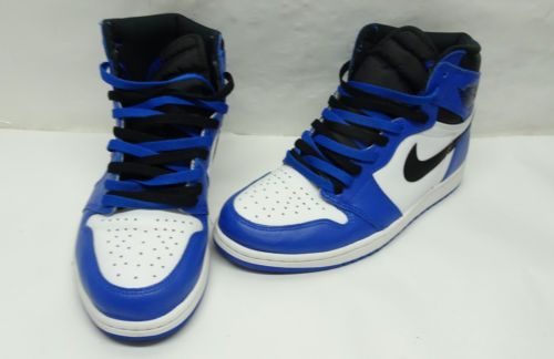 Air Jordan Retro 1 High Game Royal Black White 555088 403 Sz10 P9