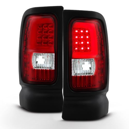 Red Clear 3rd Gen 1994 1995 1996 1997 1998 1999 2000 2001 Dodge Ram 1500 1994 2002 Ram 2500 3500 Led Tube Tail L 2001 Dodge Ram 1500 Dodge Ram 1500 Dodge Ram