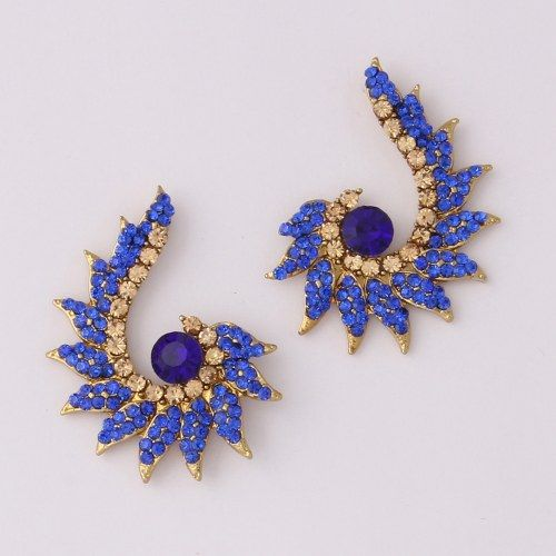 Blue Diamond Earring By Variation