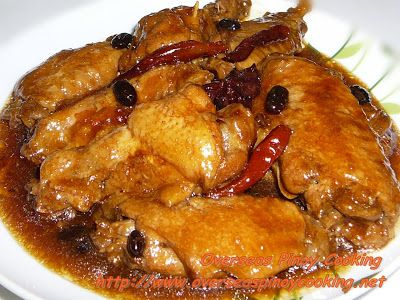 Braised chicken, Chicken wings and Wings on Pinterest