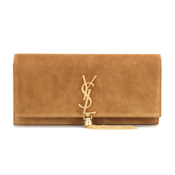 yves saint laurent cassandre ysl chevron clutch