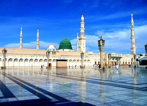 Masjid Al-Nabawi, Medina, Saudi Arabia