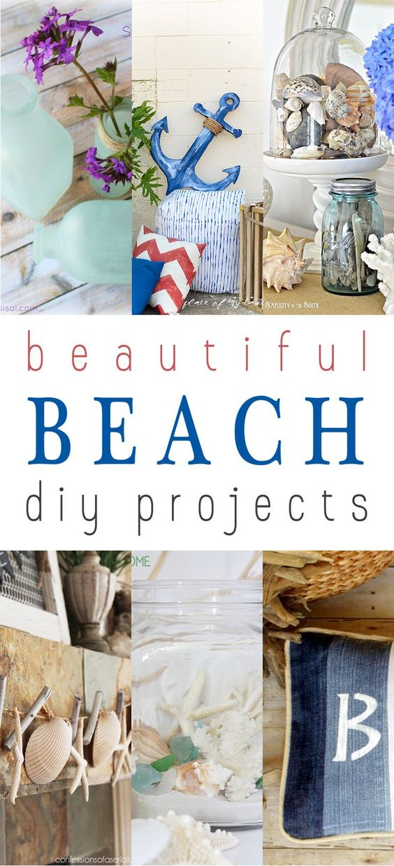 beautiful beach diy projects the cottage market. Black Bedroom Furniture Sets. Home Design Ideas