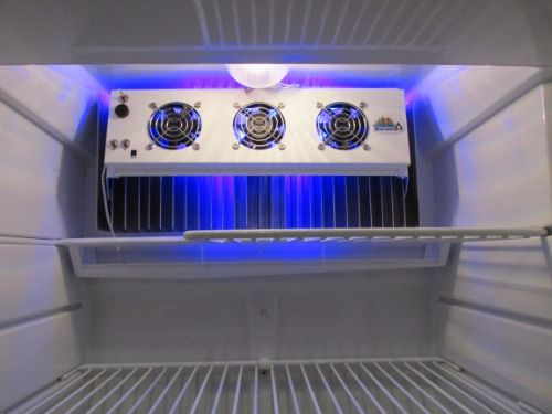 Norcold 3 Fan Special Deluxe Fan With Led Lights 13 In Wide In 2020 Led Lights Side By Side Refrigerator Led