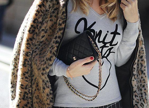 leopard stories knit beats mes voyages paris spanish fashion blogger mnica sors mes