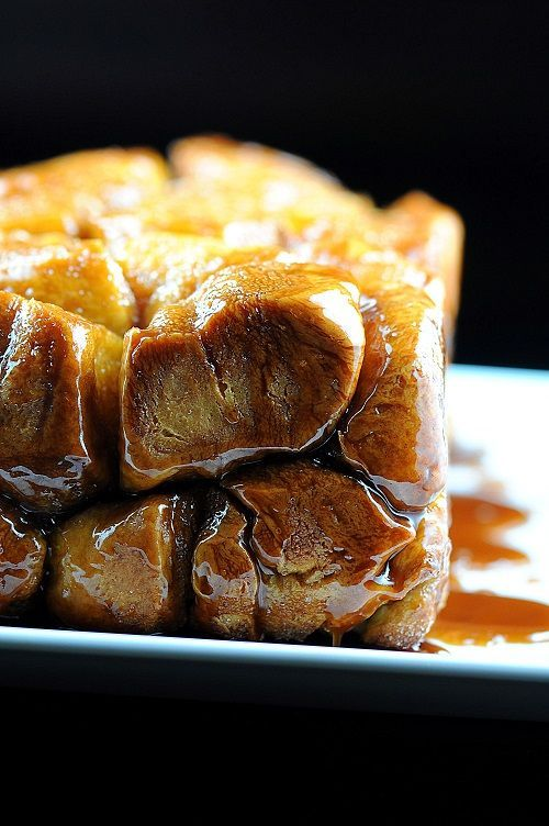 Pumpkin Brioche Whiskey Caramel Monkey Bread - This would be delicious ...