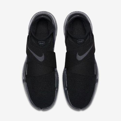 Nike Free Rn Motion Flyknit Black Anthracite Shoes 2018 Running Shoes For Men Black Running Shoes Nike Men