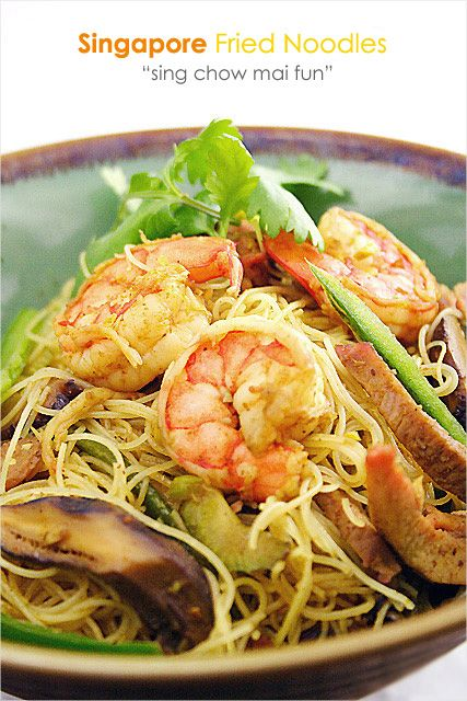 Rice noodle recipes, Rice vermicelli and Curries on Pinterest